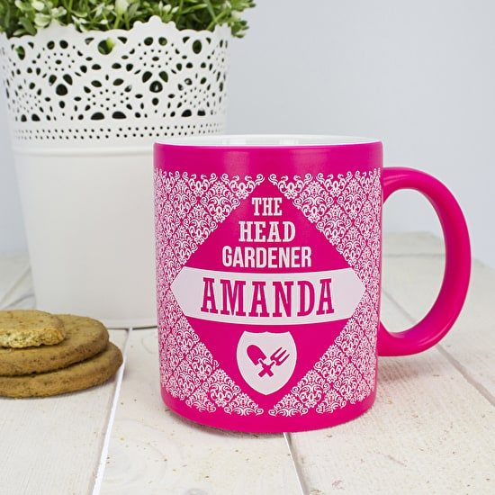 Personalised Head Gardener Mug