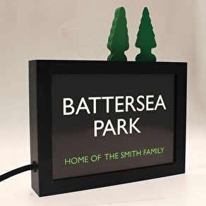 Personalised Illuminated Light Box