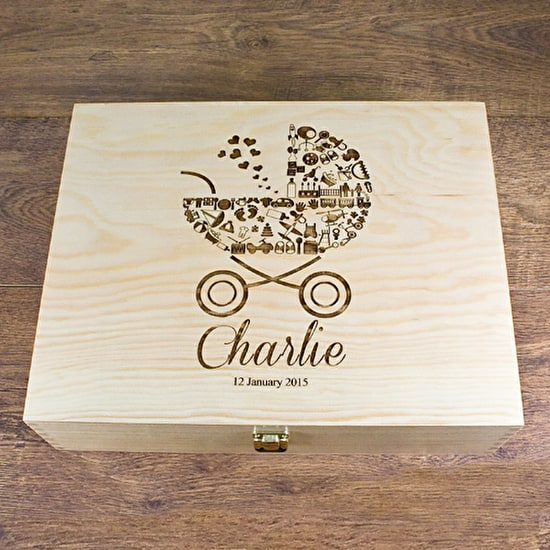 Personalised 'Babies' Memory Box