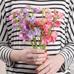 Bunch of Faux Sweet Peas