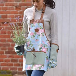 Personalised Gardening Apron And Gloves