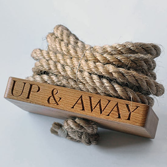 Personalised Oak Swing