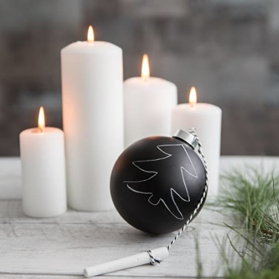 Chalkboard Bauble