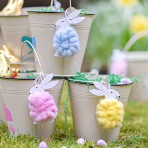 Fluffy Bunny Decorations