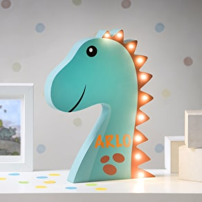Personalised LED Dinosaur Light