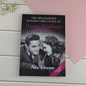 Personalised Mills & Boon Girl's Guide To Dating