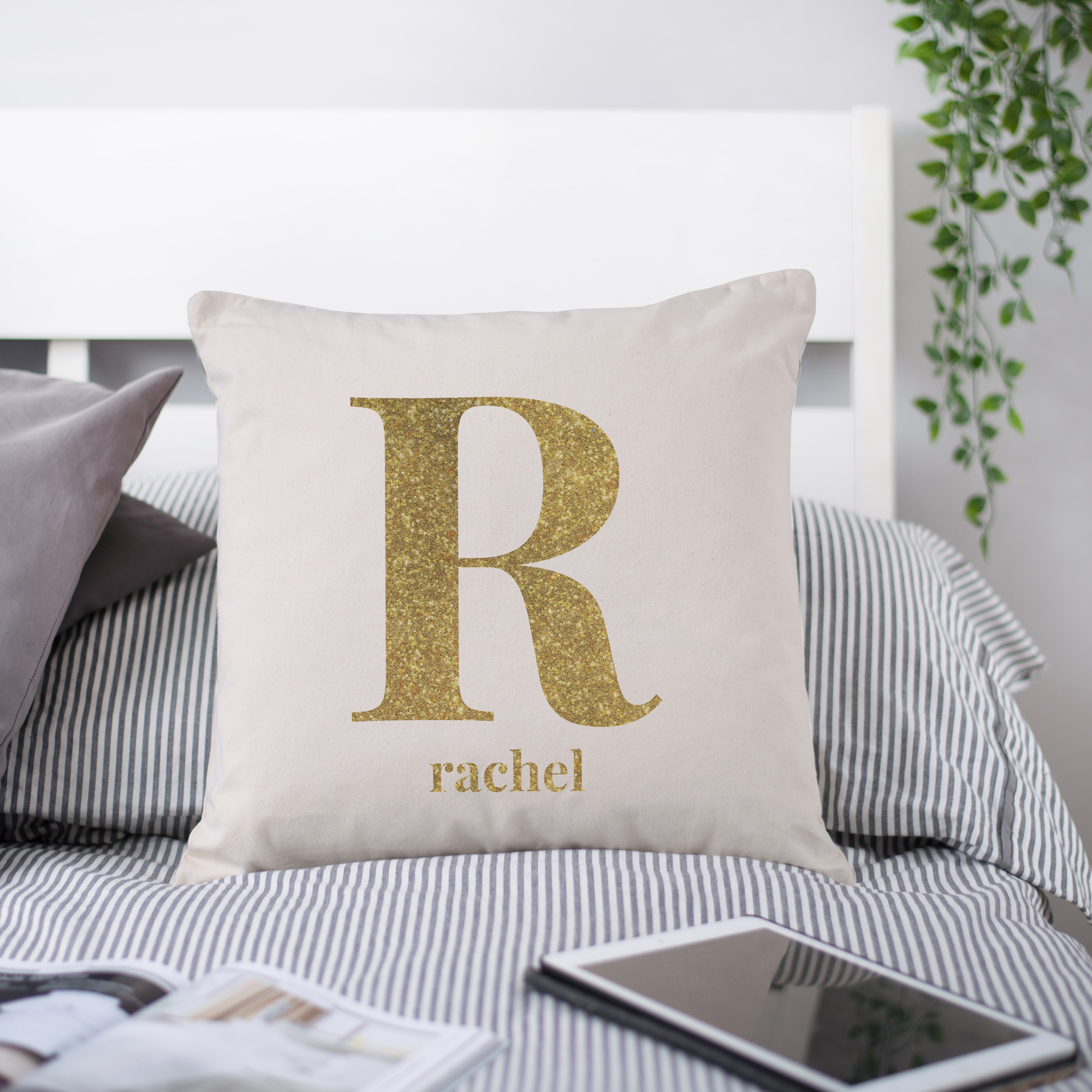 initial kupon blanket pillow girls personalised cover for cushion gallery pillows