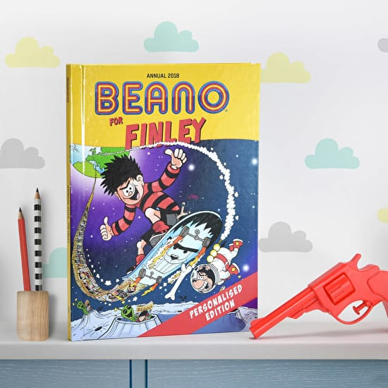 Personalised Licensed Beano Annual
