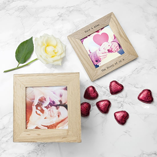 Personalised Chocolate Filled Photo Cube