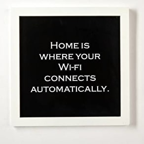 Wifi Framed Wall Art