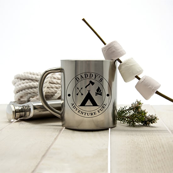 Adventure Fuel Personalised Outdoor Mug
