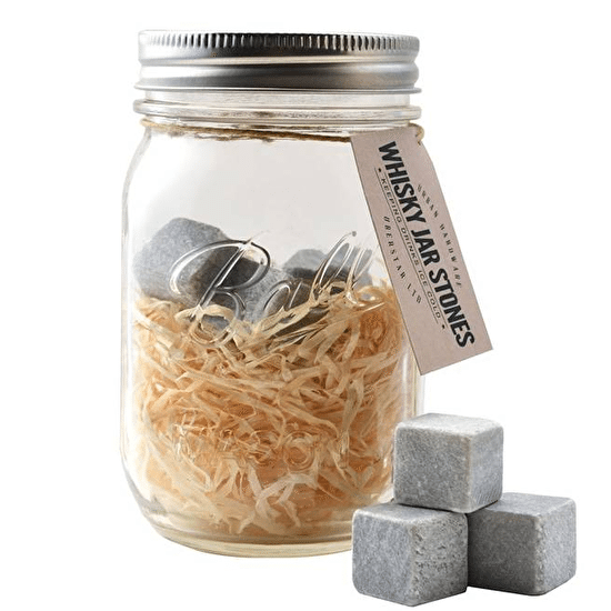 Whiskey Stone Mason Jar Gift