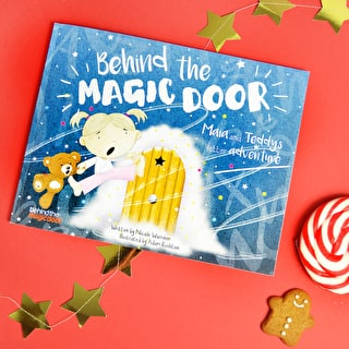 Personalised 'Behind The Magic Door' Childs Book