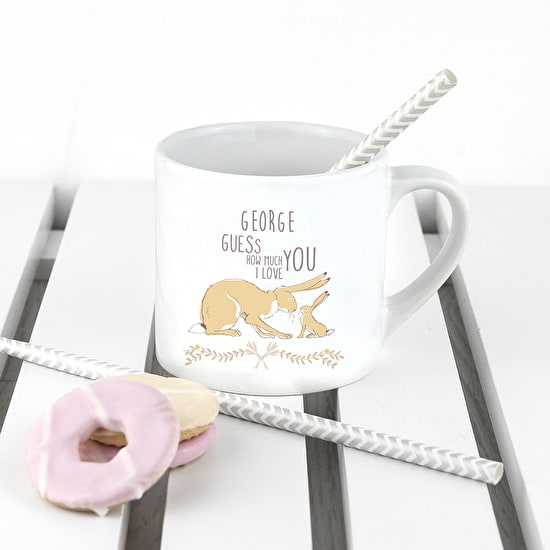Personalised 'Love You' Babyccino Mug