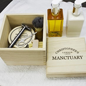 Personalised Large Cufflink Box