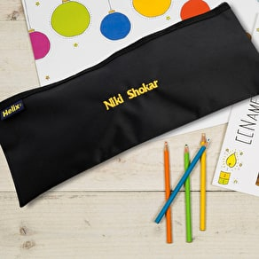 Personalised Pencil Case And Pencils