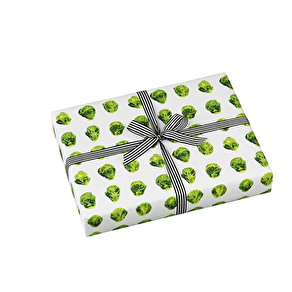 Brussel Sprout Gift Wrap