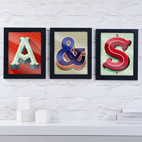 Framed Alphabet Jigsaw