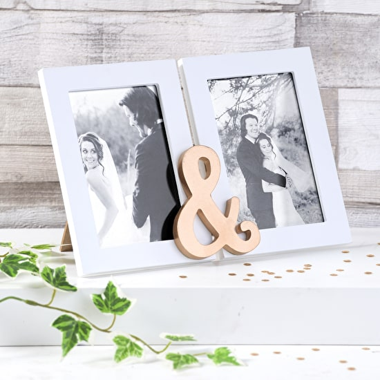 Double Display Frame With Ampersand
