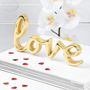 Gold Love Word