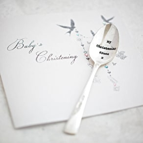 Baby' Silver Plated Vintage Spoon