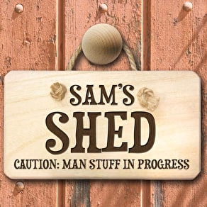Man Shed Desk Tidy