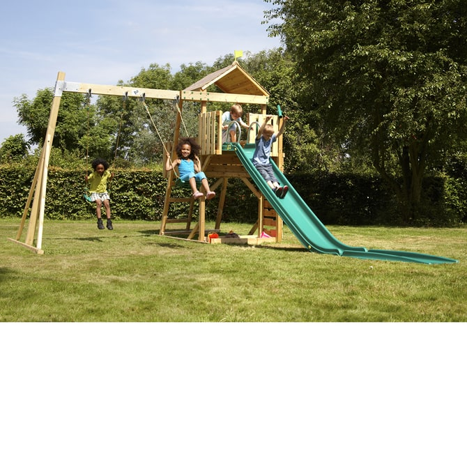 TP Kingswood2 Tower and Swing Arm (With 2 Deluxe Swing Seats) - FSC