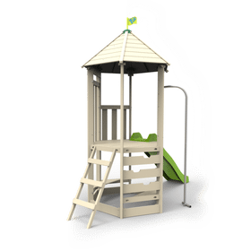 TP Castlewood Tower with Wavy Slide