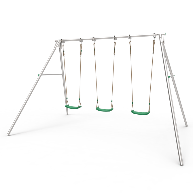 TP Triple Giant Swing frame with seats